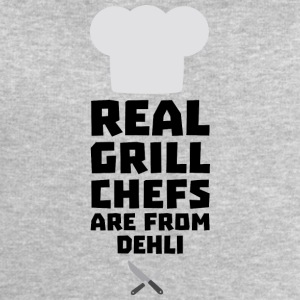 Real Grill Chefs are from Dehli S3hbn T-Shirts - Men's Sweatshirt by Stanley & Stella