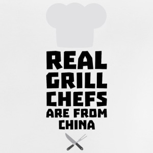 Real Grill Chefs are from China Si775 Shirts - Baby T-Shirt