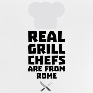 Real Grill Chefs are from Rome S05q0 Long Sleeve Shirts - Baby T-Shirt