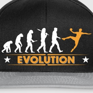 Handball Evolution - orange/weiss Bolsas y mochilas - Gorra Snapback