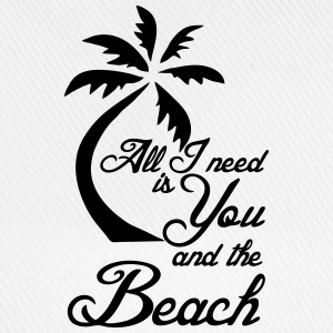 You and the Beach T-Shirts - Baseballkappe