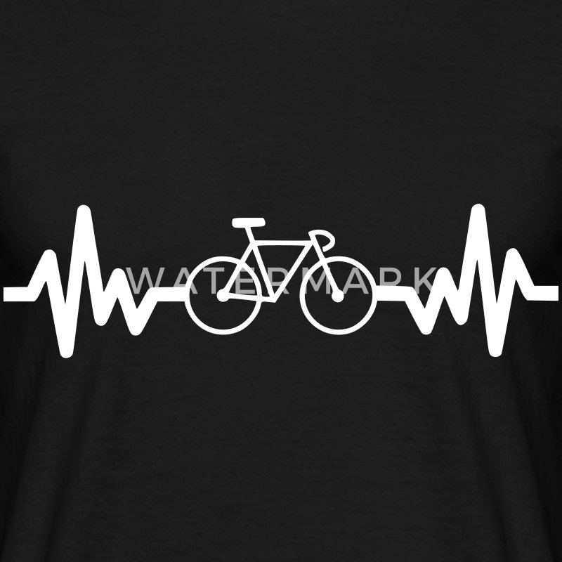 Bike is life cycling t-shirt  - Men's T-Shirt