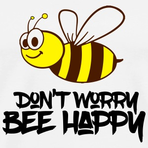 bee happy Handy & Tablet Hüllen - Männer Premium T-Shirt