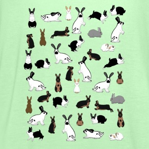 All rabbits Shirts - Women's Tank Top by Bella