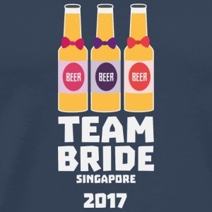 Team Bride Singapore 2017 S4gkk Long Sleeve Shirts - Men's Premium T-Shirt