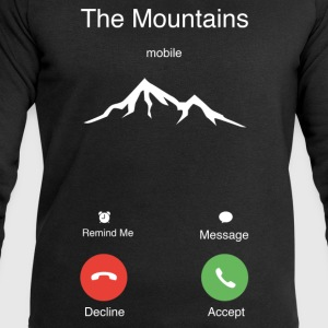 The Mountains T-Shirts - Men's Sweatshirt by Stanley & Stella