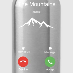 The Mountains T-Shirts - Water Bottle