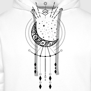 Shamanic Moon T-Shirts - Men's Premium Hoodie