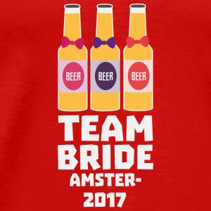 Team Bride Amsterdam 2017 Sn034 Tops - Men's Premium T-Shirt