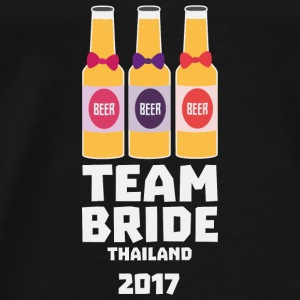 Team Bride Thailand 2017 Sh96y Bags & Backpacks - Men's Premium T-Shirt