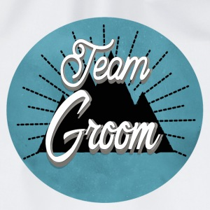 team_groom_mountain Buttons & Anstecker - Turnbeutel