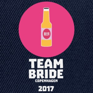 Team bride Copenhagen 2017 Henparty S5q0s Long Sleeve Shirts - Snapback Cap