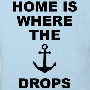 home is where the anchor drops Anker Heimat Liebe Baby Bodys - Kinder Bio-T-Shirt