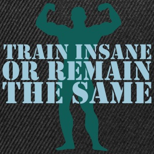 train insane Sweaters - Snapback cap
