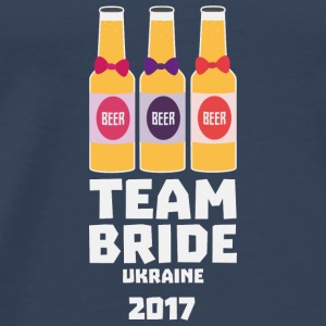 Team Bride Ukraine 2017 Sa83w Tops - Men's Premium T-Shirt