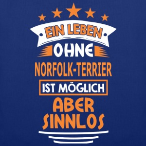 NORFOLK-TERRIER T-Shirts - Stoffbeutel