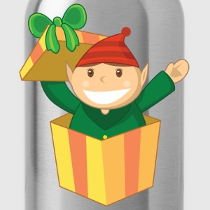 Santa Elf Helper - Water Bottle