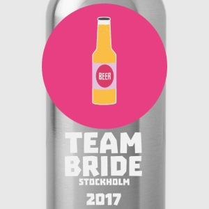 Team-Braut Stockholm 2017 Henparty S27qy T-Shirts - Trinkflasche