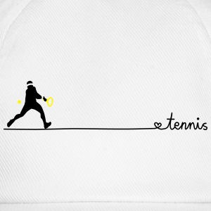 love tennis two T-Shirts - Baseballkappe