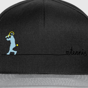 love tennis T-Shirts - Snapback Cap