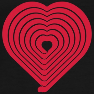 Heart Maze - Men's Premium T-Shirt
