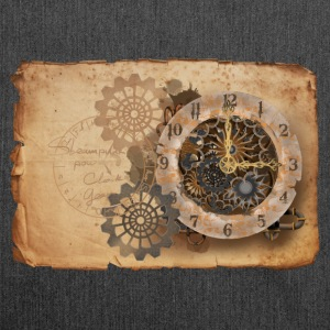 Steampunk watch Magliette - Borsa in materiale riciclato
