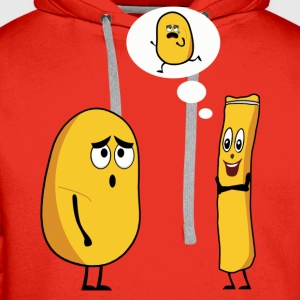 POTATO TALK T-Shirts - Men's Premium Hoodie