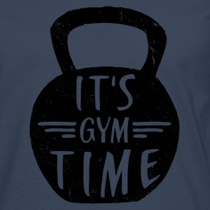 IT'S GYM TIME T-Shirts - Men's Premium Longsleeve Shirt