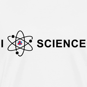 I love science Sweat-shirts - T-shirt Premium Homme