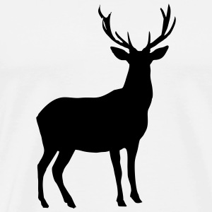Deer  Aprons - Men's Premium T-Shirt