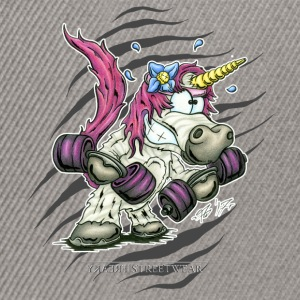 Train like a unicorn Hoodies & Sweatshirts - Snapback Cap