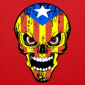 Cataluña skull Tee shirts - Tote Bag