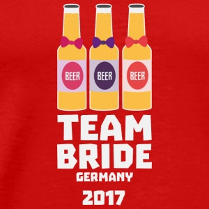 Team Bride Germany 2017 S36e6 Long Sleeve Shirts - Men's Premium T-Shirt