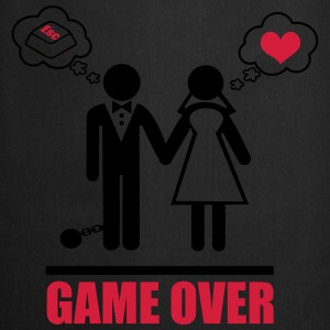 Game over,couples,Stag Do,stag,stag night,bachelor - Cooking Apron