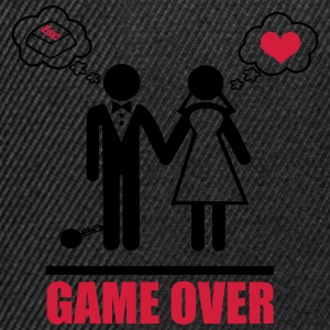 Game over,couples,Stag Do,stag,stag night,bachelor - Snapback Cap