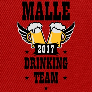 06 Malle 2017 Drinking Team Beer Bier Wings T-Shir - Snapback Cap