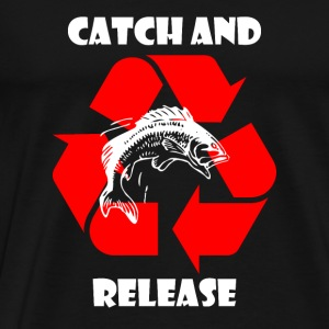 Catch and Release - Anglershirt Pullover & Hoodies - Männer Premium T-Shirt