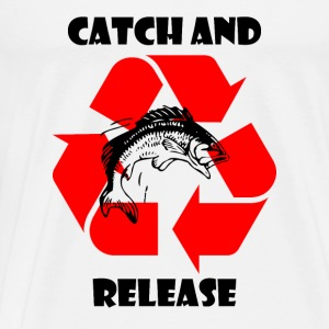 Catch and Release black Tops - Männer Premium T-Shirt