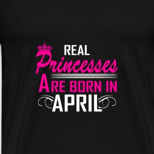 April - Birthday - Princess - 2 Sports wear - Men's Premium T-Shirt