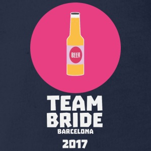 Team bride Barcelona 2017 Henparty Sa77p Shirts - Organic Short-sleeved Baby Bodysuit