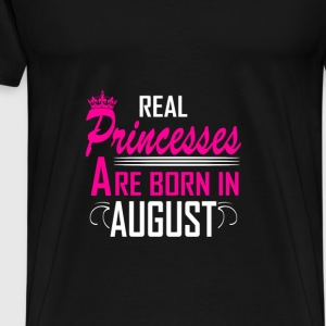 August - Birthday - Princess - 2 Felpe - Maglietta Premium da uomo
