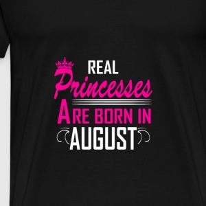 August - Birthday - Princess - 2 Manches longues - T-shirt Premium Homme