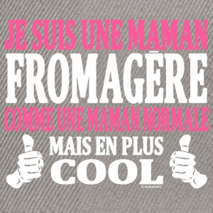 Je suis une maman fromagère Tee shirts - Casquette snapback