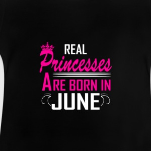 June - Birthday - Princess - 2 T-Shirts - Baby T-Shirt