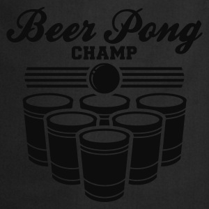 BEER PONG CHAMP T-Shirt - Cooking Apron