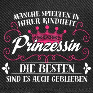 Prinzessin - Kindheit - Snapback Cap