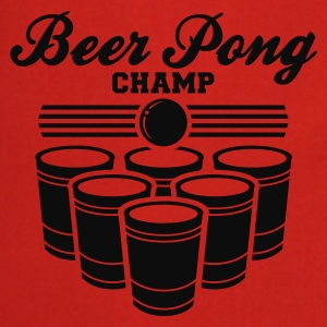 BEER PONG CHAMP - Cooking Apron