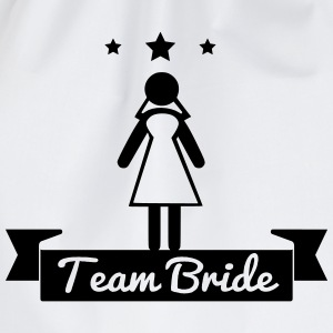 Team bride ,Hen, Night, Team, Bride, bachelorette - Drawstring Bag