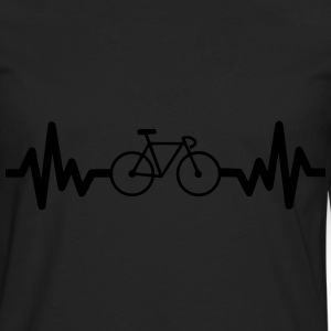 Bike is life cycling t-shirt  - Men's Premium Longsleeve Shirt