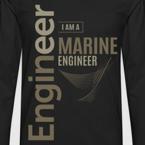 Marine Engineer - Men's Premium Longsleeve Shirt